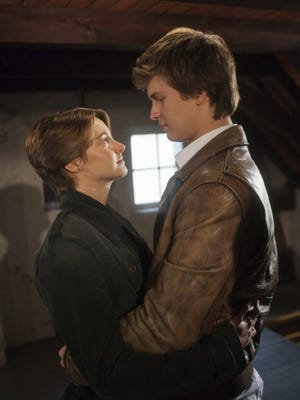 """Shailene Woodley and Ansel Elgort in """"The Fault in Our Stars"""" (2014)."""