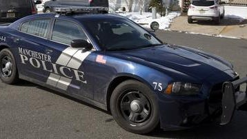 Manchester Township police car.
