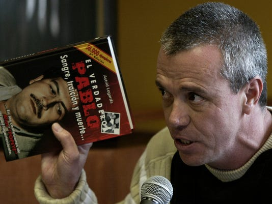 AP COLOMBIA ESCOBAR'S HIT MAN I FILE COL