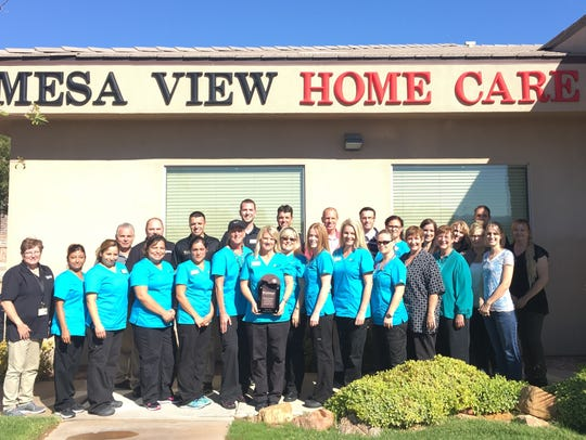 Mesa View Home Care has been recognized as one of the top home health care facilities in Nevada by winning a Quality Award from health care consulting organization HealthInsight for the past five years.