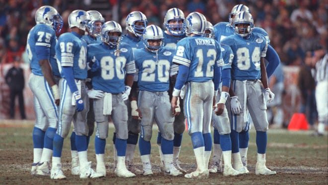 The Lions marched all the way to the NFC title game in the 1991 season.