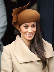 Meghan Markle asiste al servicio de la Iglesia del Día de Navidad de la familia real.