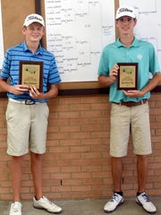 Hendersonville 16-year-old Bryce Lewis (at left) won