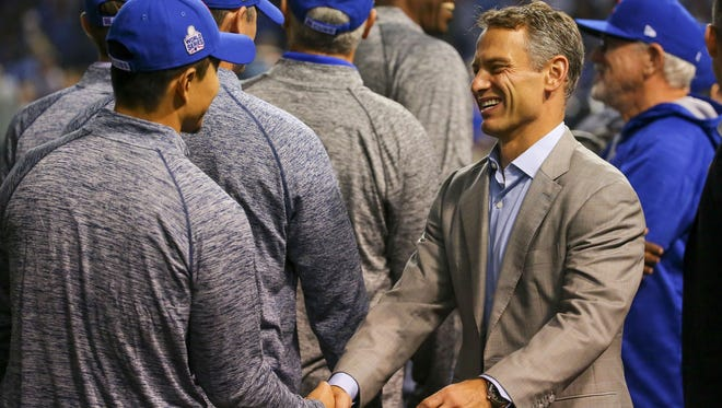 Cubs general manager Jed Hoyer said he and the team's front office saw signs of the team coming together in the second half of 2014, despite a sub-.500 record for the season.