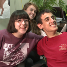 Northgate High School chose two special needs students as Homecoming King and Queen.