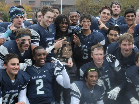 Cranbrook Kingswood defeated Detroit Mumford to bring