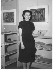 "Miné Okubo was an artist and writer who detailed her time in Utah's Topaz War Relocation Center during World War II in her book ""Citizen 13660."""