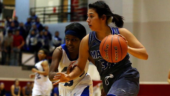 Lake View High School's Bri-Anna Soliz will continue her basketball career at St. Edward's University in Austin.