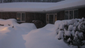 The front entrance to our home after 30 inches of snow in Boston.