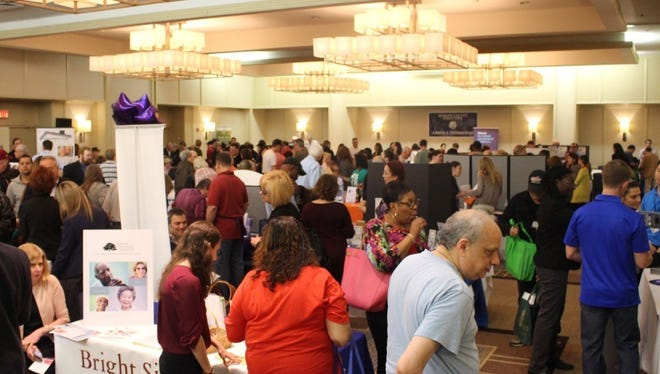 The crowd at the 2017 Bergen County Care Fair.