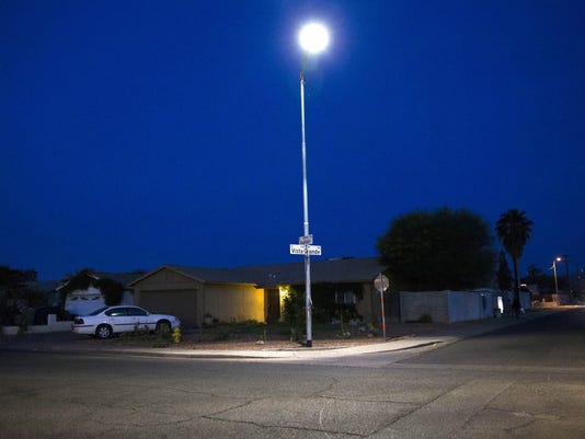 Phoenix to install dimmer LED streetlights