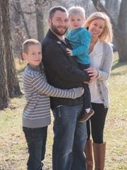 Megan Hejlik, of Sheffield, has her own family now, including husband Ryan and sons Ethan, 10, and Renner, 3, but is searching for her own biological roots.