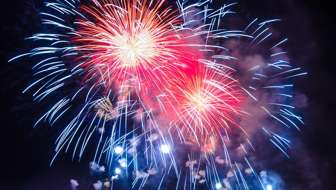 See fireworks this July 4 throughout the Upstate.