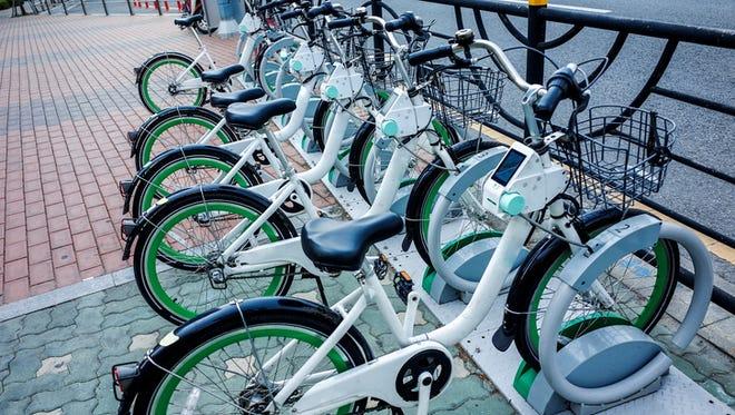 Public bicycle city bike