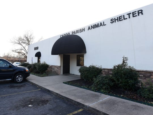 The Caddo Parish Animal Shelter.