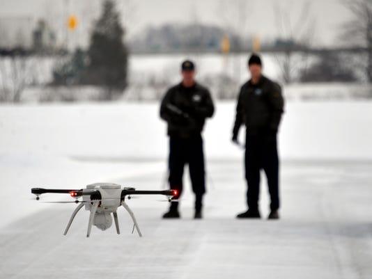 Michigan Police Drones