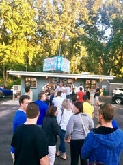 How popular is Deprey's Frosty Tip in Dyckesville? Sometimes the line can stretch to the road at the drive-in in its 64th season.