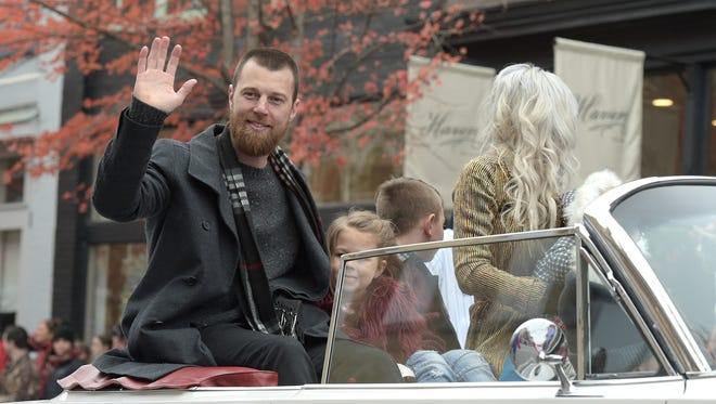 Franklin Mayor declares the day Ben Zobrist Day after the World Series MVP, who lives in Franklin and is the Christmas parade grand marshal.