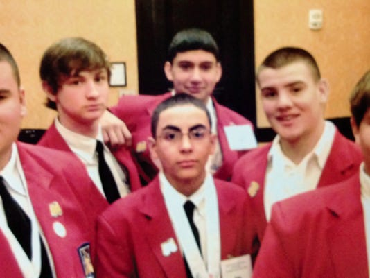 Silver High School students competed in Albuquerque in the SkillsUSA competition recently, and three will advance to the national competition n Louisville, Ky. Students include, from left, Kyren Salas, Virgil Hickson, Esteban Arroyos, John Paul, Alex Alvarez and Tucker Stailey. Courtesy Photo