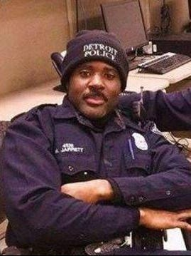 Detroit Police Officer Myron Jarrett was fatally killed in a hit-and-run incident Friday night.