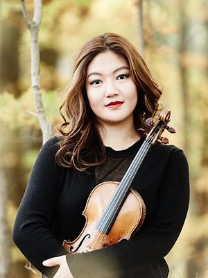 Guest artist Jinjoo Cho will be violin soloist for the Delaware Symphony Orchestra's new Family Concerts.