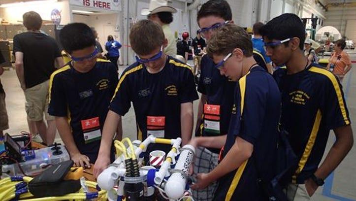 2012: FIRST Robotics Competition at Seneca High School