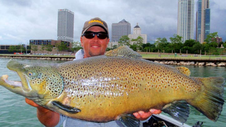 Engberg: There's a hot brown trout bite on Lake Michigan right now