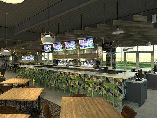 Drive Shack, another golf-entertainment venue, also