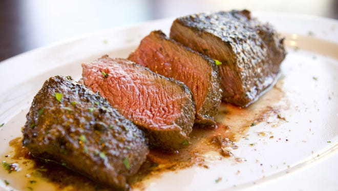 The Delmonico steak is just one of the offerings at Arrowhead Grill in Glendale.