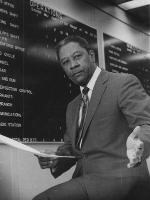 Indianapolis Police Dept. Spurgeon Davenport. 1970 file photo