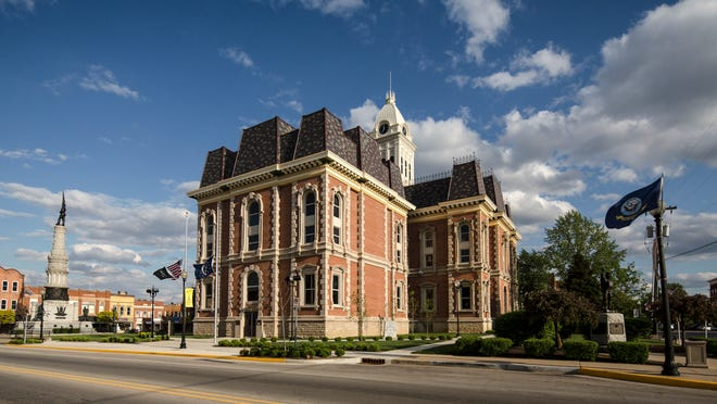 The Randolph County Courthouse