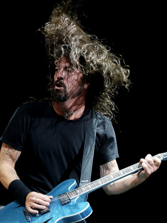 Foo Fighters concert Nashville TN Bridgestone Arena