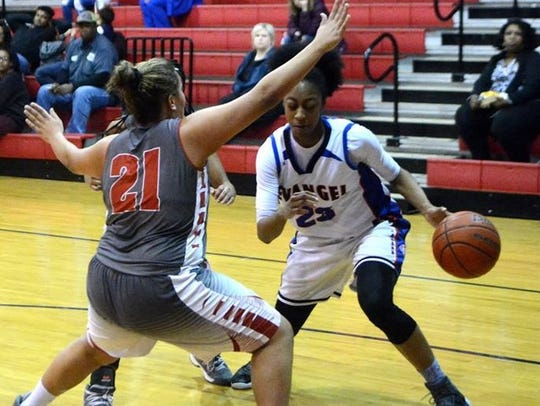 Tiara Young led Evangel to a win against Mt. Carmel