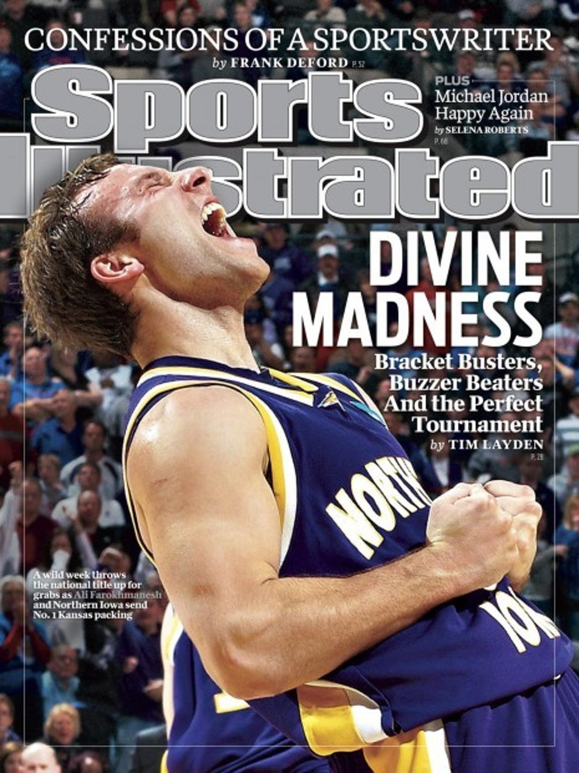 Ali Farokhmanesh was on the Sports Illustrated cover