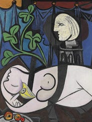 """Pablo Picasso's """"Nude Green Leaves, and Bust"""" was sold"""