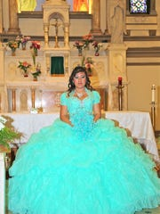 Veronica Mendez at St. Paul's Catholic Church in Wilmington.