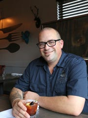 Rich Parente, chef-owner of the Clock Tower Grill in