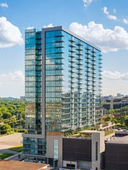 An exterior shot of the Twelve Twelve condo tower in the Gulch. Roughly 90 percent of the 286 units have been sold with the rest expected to be sold by year's end.