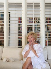 Actress Ruta Lee recalls time spent with Frank Sinatra and members of the Rat Pack during an interview with The Desert Sun in her home on Monday, August 3, 2015 in Palm Springs, Calif.