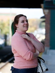 Commuter Jessica Reed of Ossining talks about Metro-North