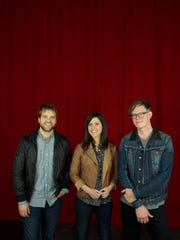 Christian contemporary artists Josh Wilson, left, JJ Heller and Jason Gray will perform in concert March 4 at the East China PAC.
