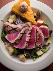 Seared tuna salad at Flying Mango
