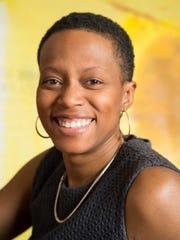 Chicago based artist and architect Amanda Williams,