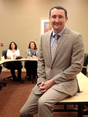 Joshua Bonner, president/CEO of Indio Chamber of Commerce on Tuesday, March 29, 2016 at La Quinta City Hall.