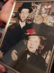 A photo of Jim and Dawn Steckmesser from the early