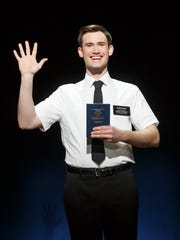 "Ryan Bondy plays Elder Price in ""The Book of Mormon."""