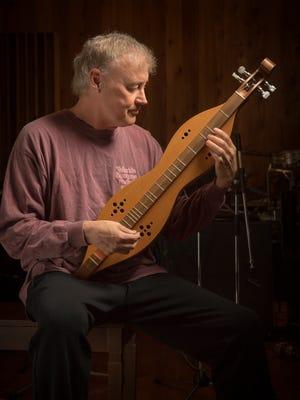 Bruce Hornsby on the mandolin