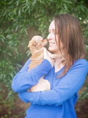 Shawnia Willson says staying busy and caring for animals and people help her battle depression.