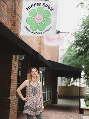 Courtney Gaston, owner of Hippie Baby in downtown Shreveport,