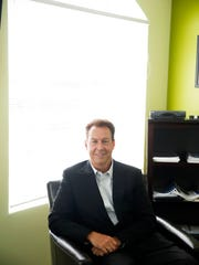 Stephen Hagenbuckle, managing partner at TerraCap, in his office in Bonita Springs on Thursday, July 7, 2016. Hagenbuckle and his partners started the real estate investment management company in 2008. (Dorothy Edwards/Naples Daily News)